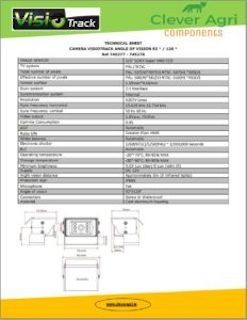Visiotrack Technical Info