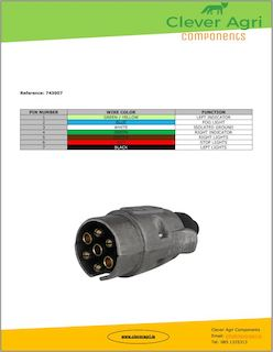 Wiring 7 Pin Plug